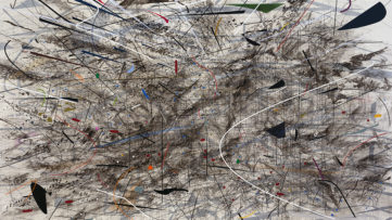 Julie Mehretu – Black City, 2007