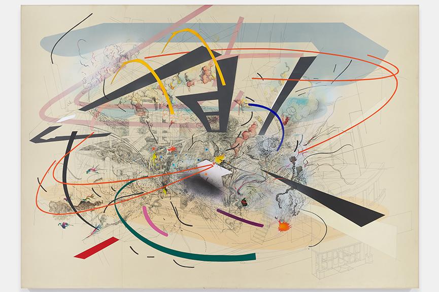 Julie Mehretu – Untitled 2, 2001