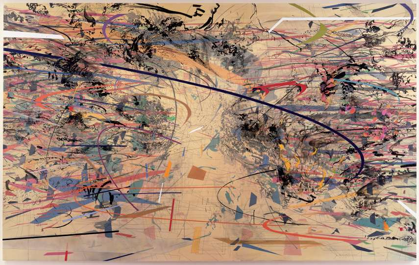 Julie Mehretu - Dispersion, 2002 - gallery untitled home