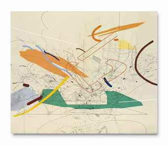 Julie Mehretu-Untitled 1-1999