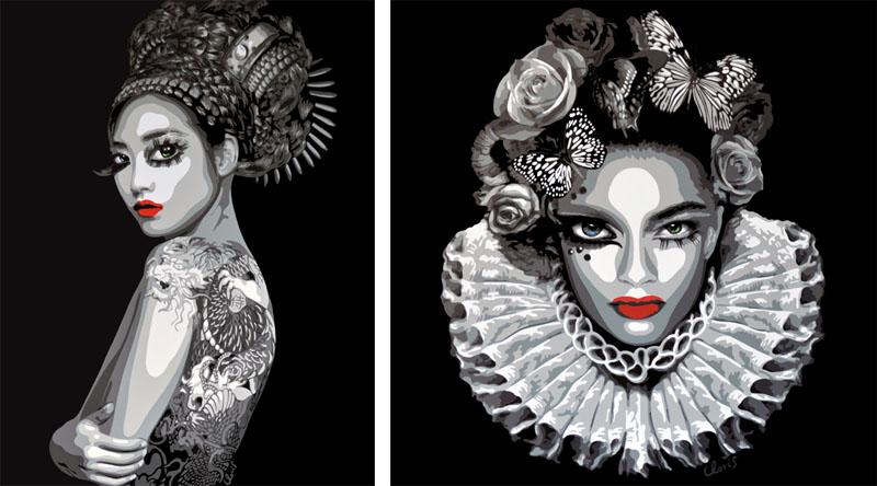 Juliette Clovis - Itagaki, 2014 and Persephone 3, 2014
