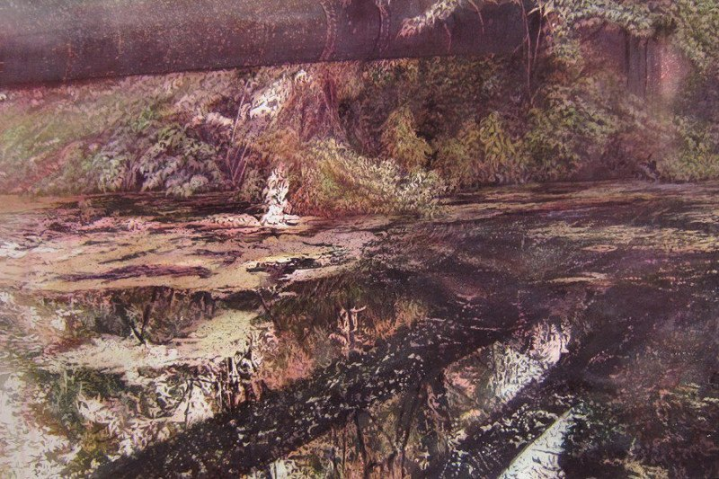 Juliette Losq - Vena, 2015, photorealism, painting