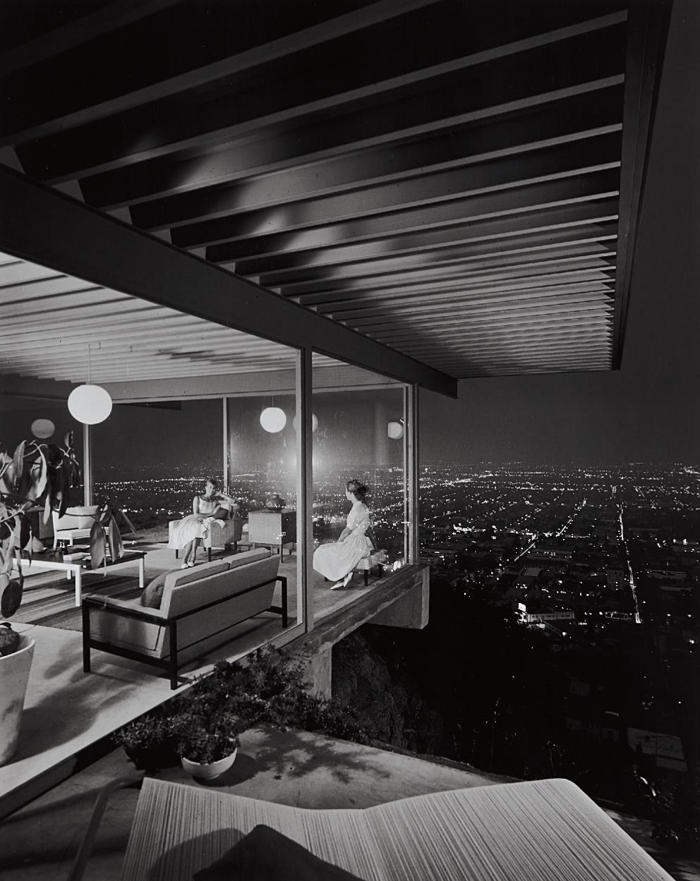 Julius Shulman-Case Study House #22, Los Angeles, CA, Pierre Koenig Architect-1960