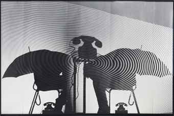 Jurgen Klauke-Schattenbild-1984