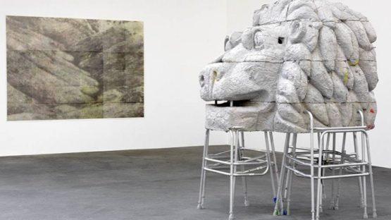 Justin Matherly - Community, installation view at Johann König, Berlin