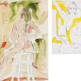 Jutta Koether-Two works: (i) Untitled, 1993; (ii) Untitled, 1992-1993