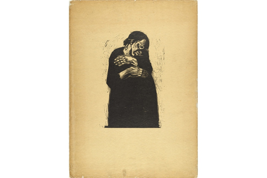 A popular blog was published on best years of Kollowitz and her use of black