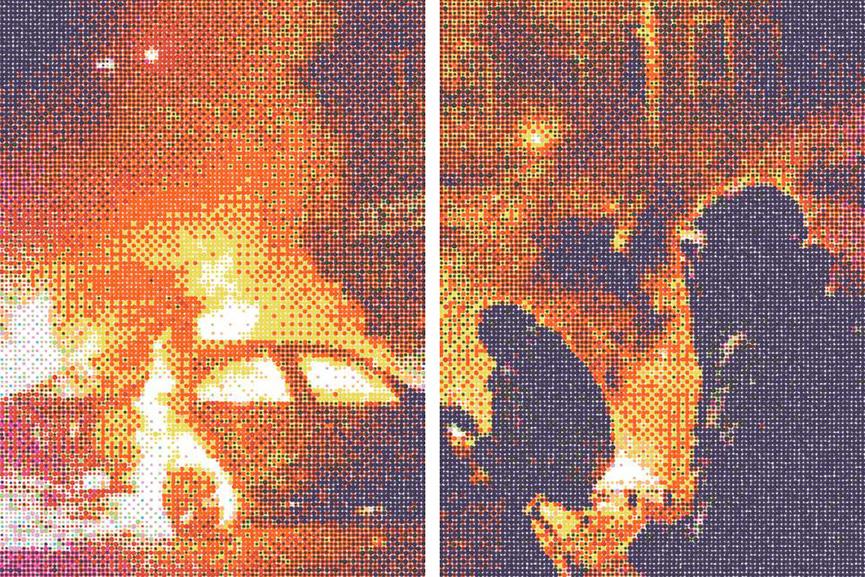 KAN - Riots. Galerie Under the radar