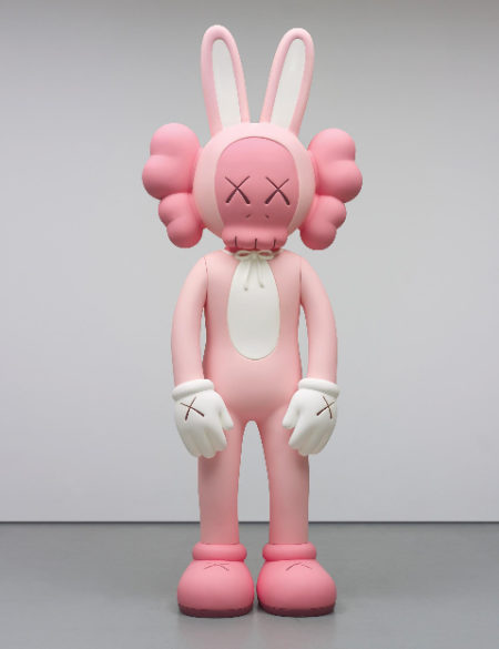 KAWS-Ten Feet Accomplice (Pink)-2010