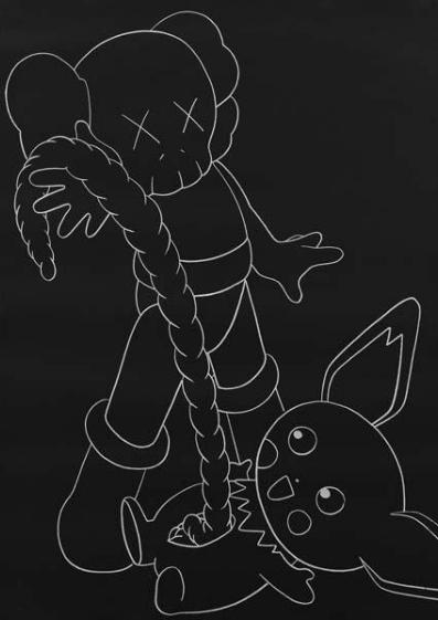 KAWS-Astroboy vs. Pikachu-2002
