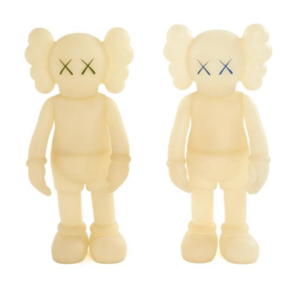 KAWS-Five Years Later Companion (Glow in the Dark)-2004