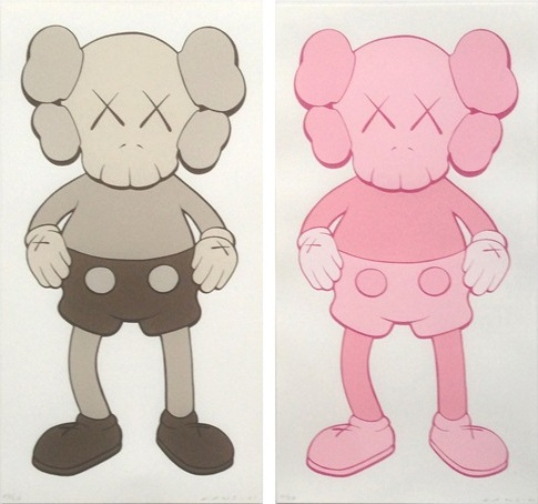KAWS-Companion (Pink, Grey)-2001