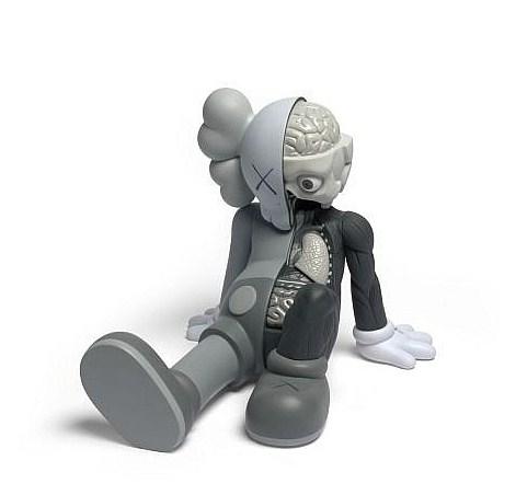 KAWS-Resting Place Companion (Grey)-2012