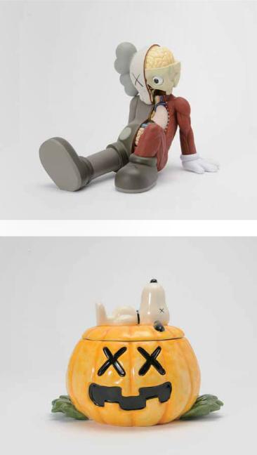 KAWS-Resting Place Companion (Brown), Snoopy Ceramic-2012