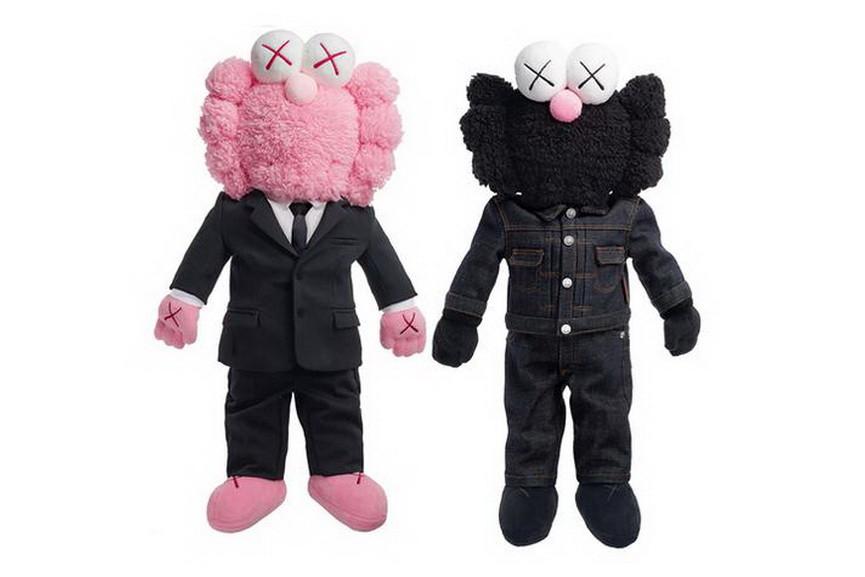 KAWS - Dior BFF Plush Pink and Black