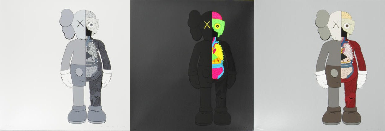 KAWS-Dissected Companion (Grey Black, Brown)-2006