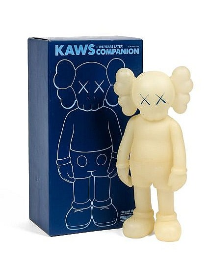 KAWS-Five Years Later Companion (Green Glow in the Dark)-2004