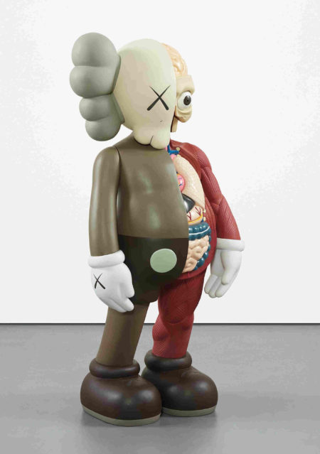 KAWS-Dissected Four Feet Companion (Brown)-2009