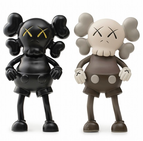 KAWS-Kaws 1st Companion × Realmad Hectic × Bounty Hunter (Black and Brown)-1990
