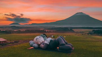 KAWS Mt Fiji © nk7