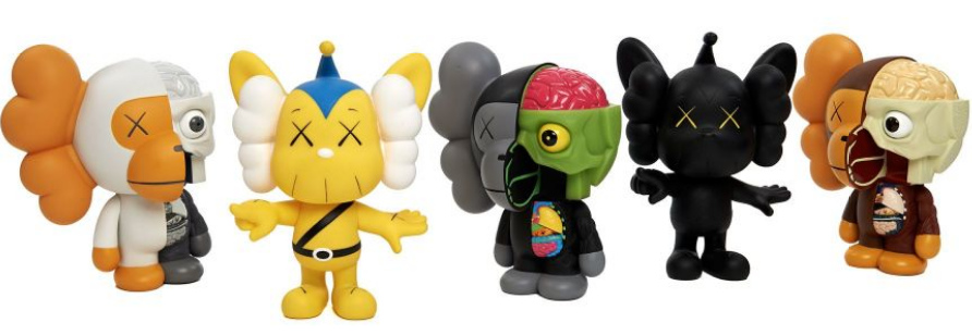 KAWS-Original Fake JPP, Dissected Milo-2011