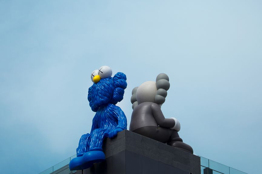 KAWS - SEEING/WATCHING figures