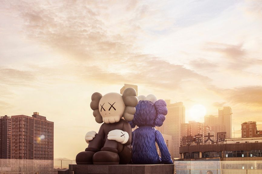 KAWS - SEEING/WATCHING, companion and bff figures