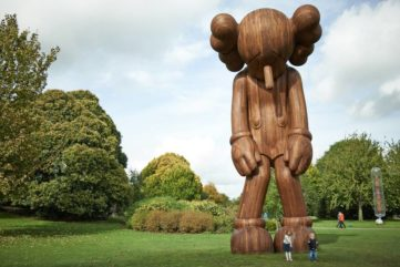 KAWS sculpture