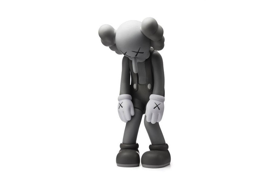 KAWS - Small Lie (Mono), 2017, a figure from the series of vinyltoys