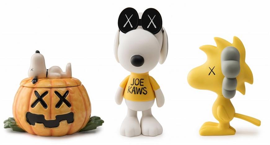 KAWS-Snoopy Ceramic, Snoopy, Woodstock-2012
