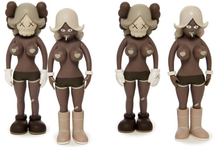 KAWS-The Twins (Brown)-2006