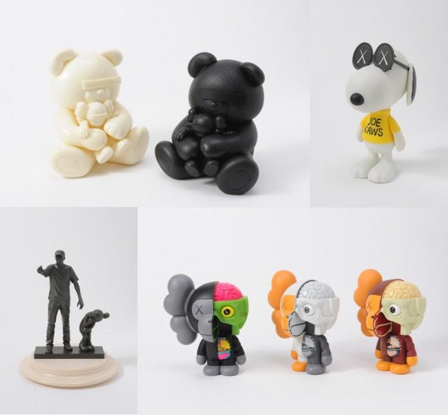 KAWS-Undercover Bear Kaws Companion, Snoopy, Kaws Partners, Milo Figures-2011