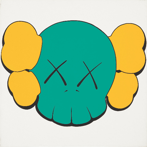 KAWS-Untitled (Skull)-2000