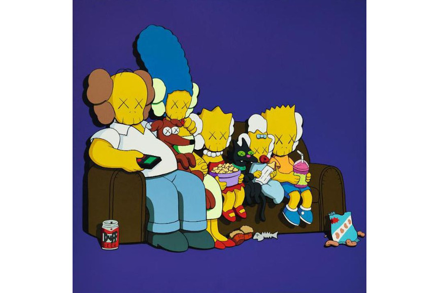 KAWS - Untitled (Kimpsons), 2003