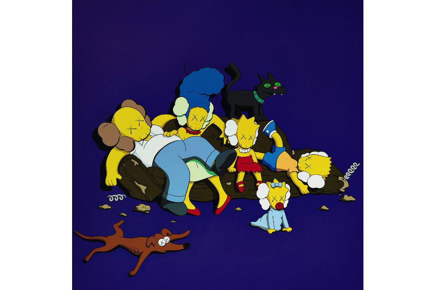 KAWS - Untitled (Kimpsons #3), 2003