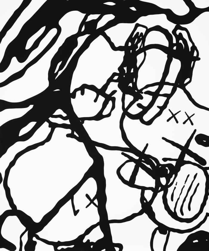 KAWS-Untitled (Mbft4)-2015
