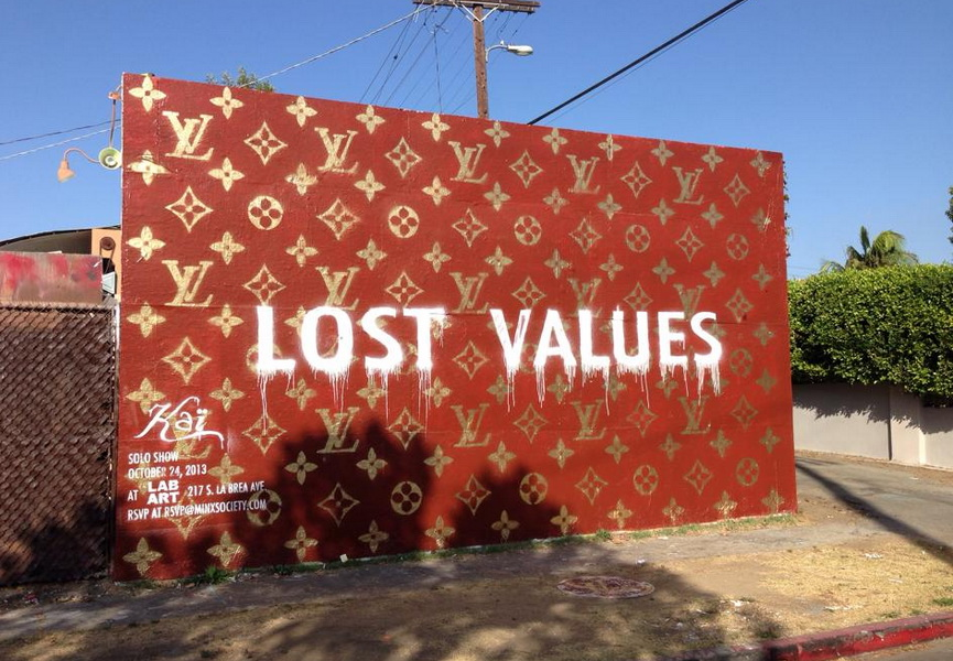 Kai, Lost Values mural
