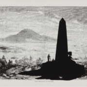 Kara Walker - Lost Mountain At Sunrise, From Harpers Pictorial History Of The Civil War (Annotated), 2005 (Detail)