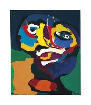 Karel Appel-Face-1970