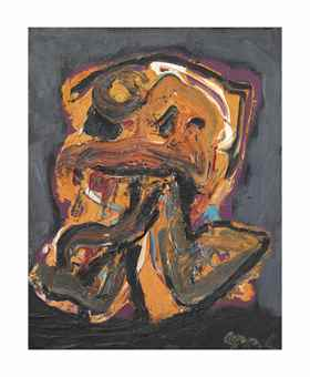 Karel Appel-Small Figure no. 11-1988