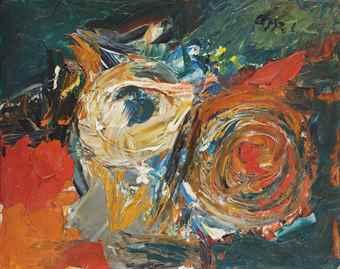 Karel Appel-Untitled-1977