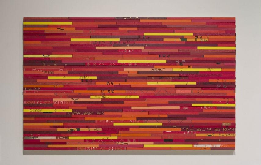 Karen Hawkins - Untitled red (installation view), 2014, copyrights Karen Hawkins
