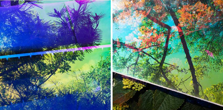 Karine Laval - Heterotopia 07, 2014 (Left) / Heterotopia 15, 2014 (Right)