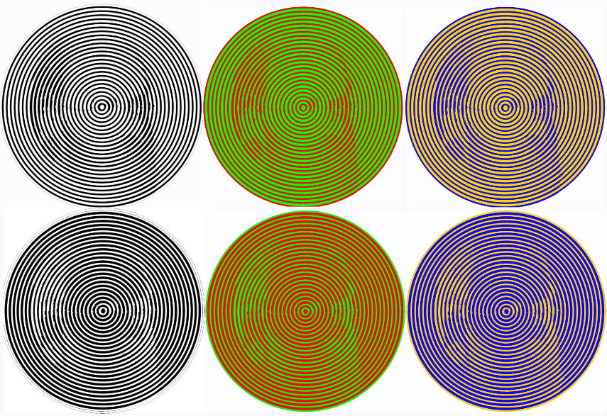 Karl Ewald Konstantin Hering example of Color Perception - via neuroportraits.eu