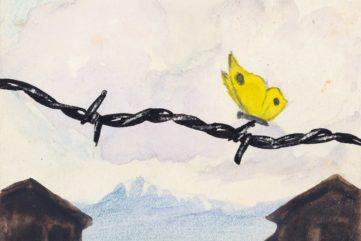 painting, drawings, time, birkenau, survivors, education, david, germany,