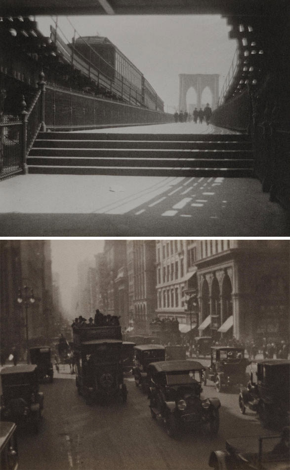 Karl Struss-Selected Images (Karl Struss: A Portfolio, Brooklyn Bridge)-1929