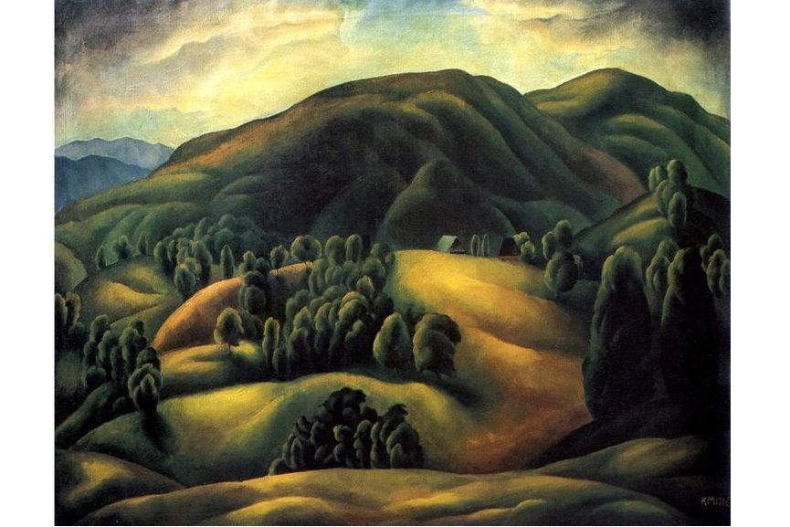 Karlo Mijic Mountain Landscape