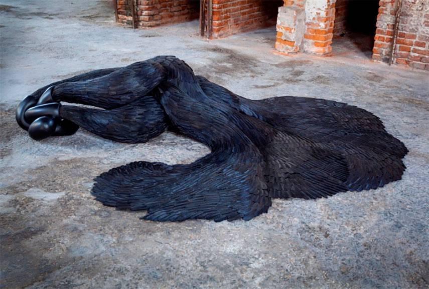 Kate MccGwire – SIREN, 2015, Venice Biennale 2015
