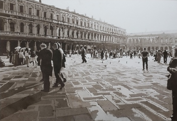 Kate Waters - Blinded Venice, 2015 - Image Copyright Galerie Voss