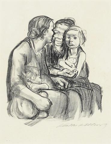 Kathe Kollwitz-17 Works-1930
